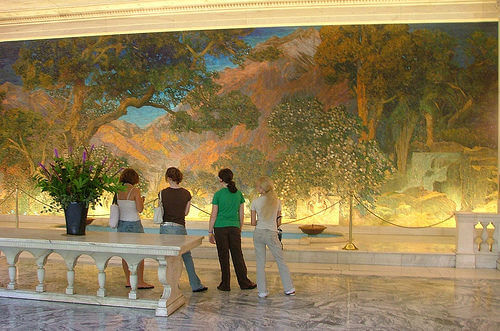 Tiffany Glass Mural