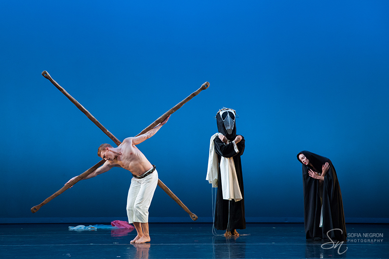 "Martha Graham's ""El Penitente""  Photo by Sofia Negron"