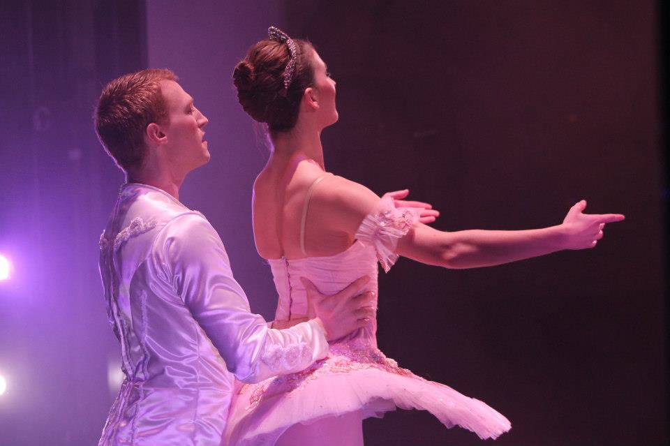 """Clara's Dream"" Sugar Plum Cavalier  City Center Ballet - Lebanon, NH"