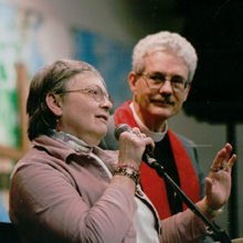 Rev. Jim Morehead and Elaine Morehead