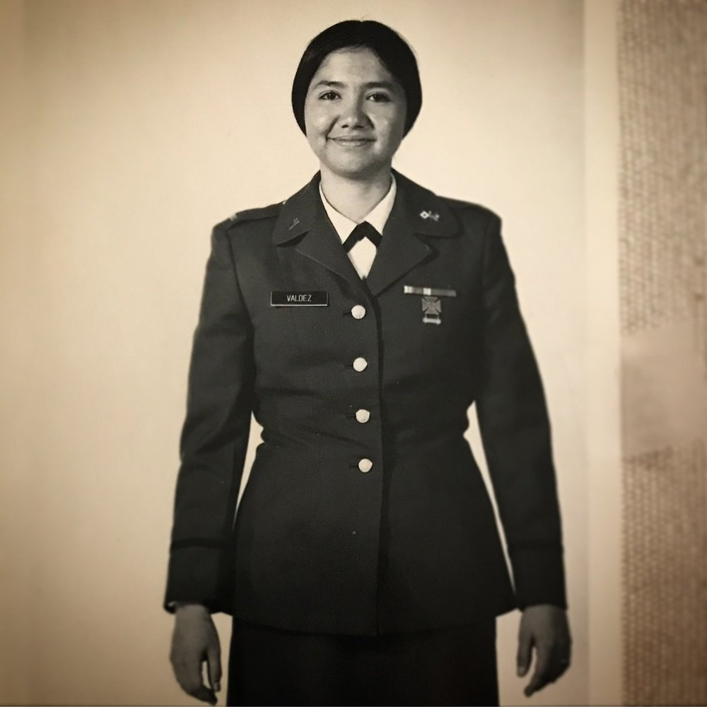 Officer in the Army Reserve, 1974