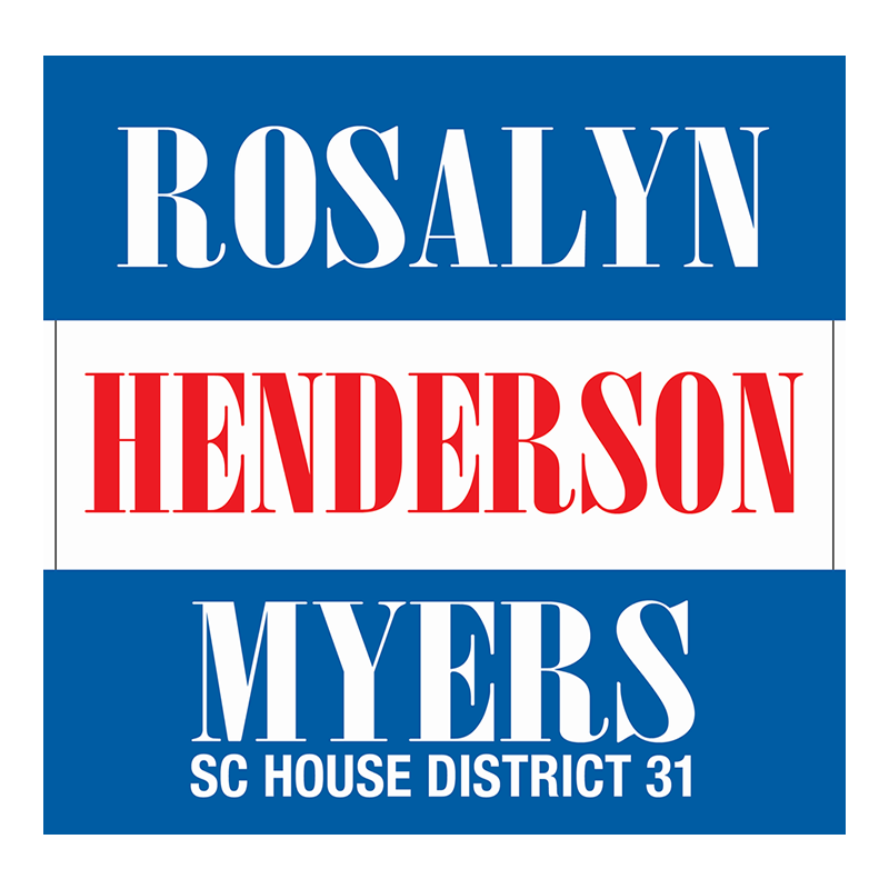 Website of SC House State Rep. Rosalyn Henderson Myers