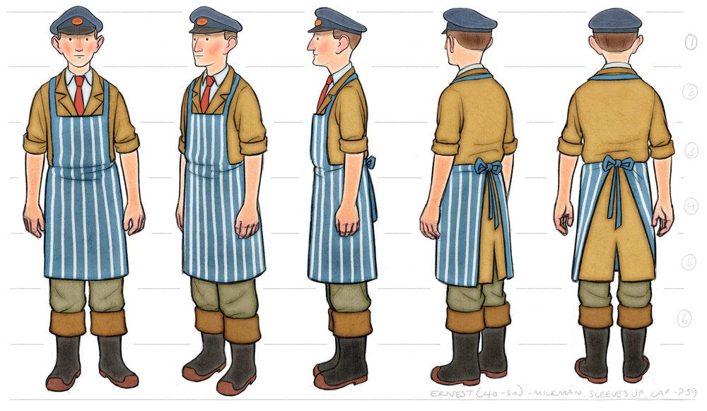 Ernest Colour Costume Design
