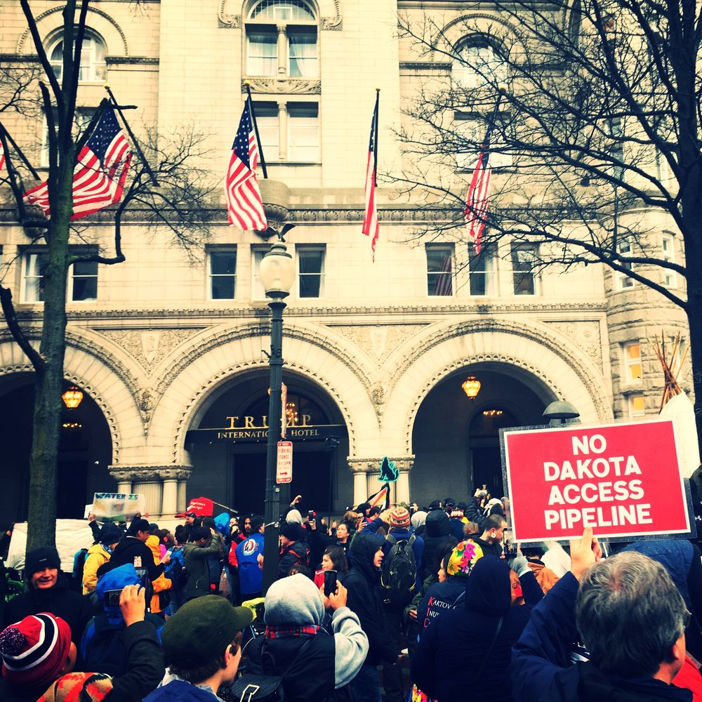 Photo by Jacq Williams during the Native Nations Rise March in Washington D.C.
