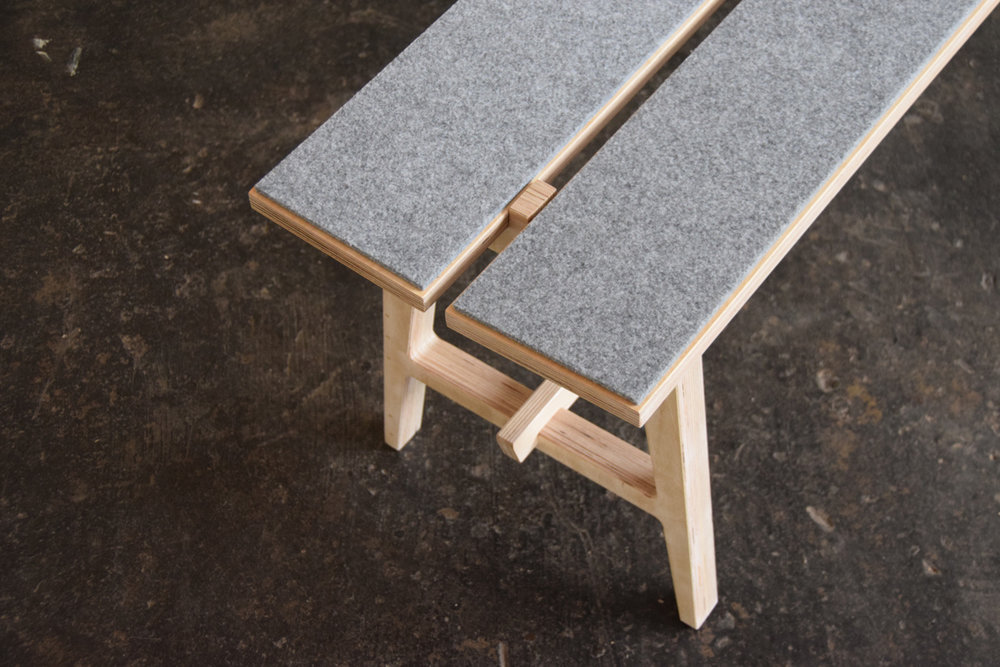 SHAKER BENCH  // Richard Kohler