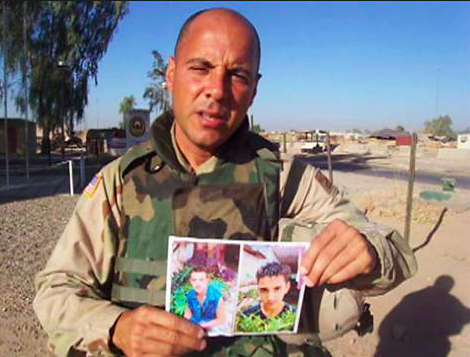 Carlos Lazo pleading to see his sons in Cuba while serving in Iraq.