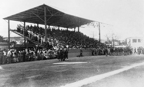 The first baseball game in Cuba was played in Matanzas at the Palmar de Junco Stadium in 1874. Source: Ballpark Digest