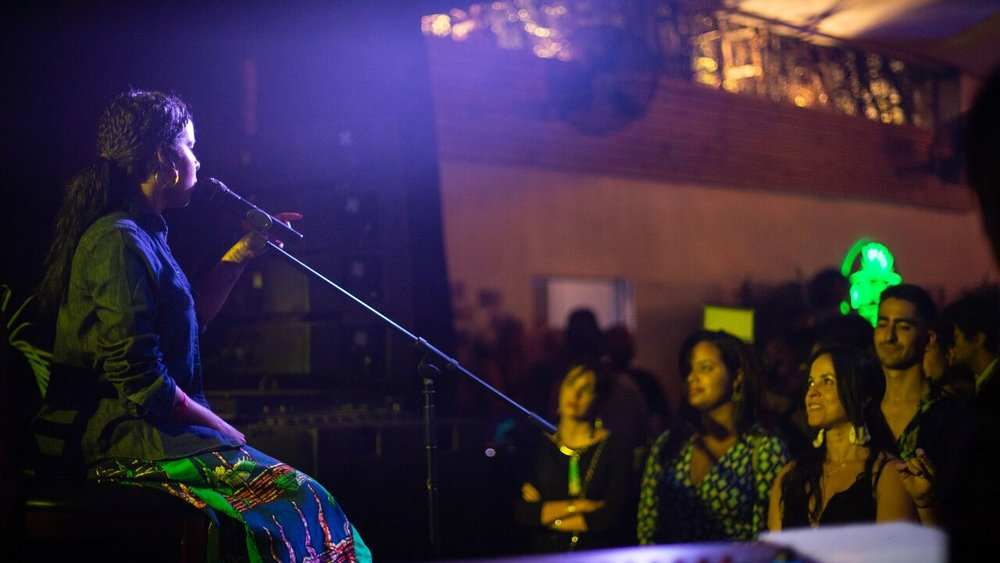 Danay Suarez performing at Miami 1306