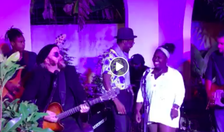 A video of the Varela's first time playing with Dayme and Cimafunk at Havana House.