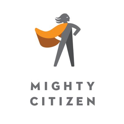 Mighty Citizen logo, a marketing agency for mission-driven orgs, and a client of Art and Science Communications of Austin.