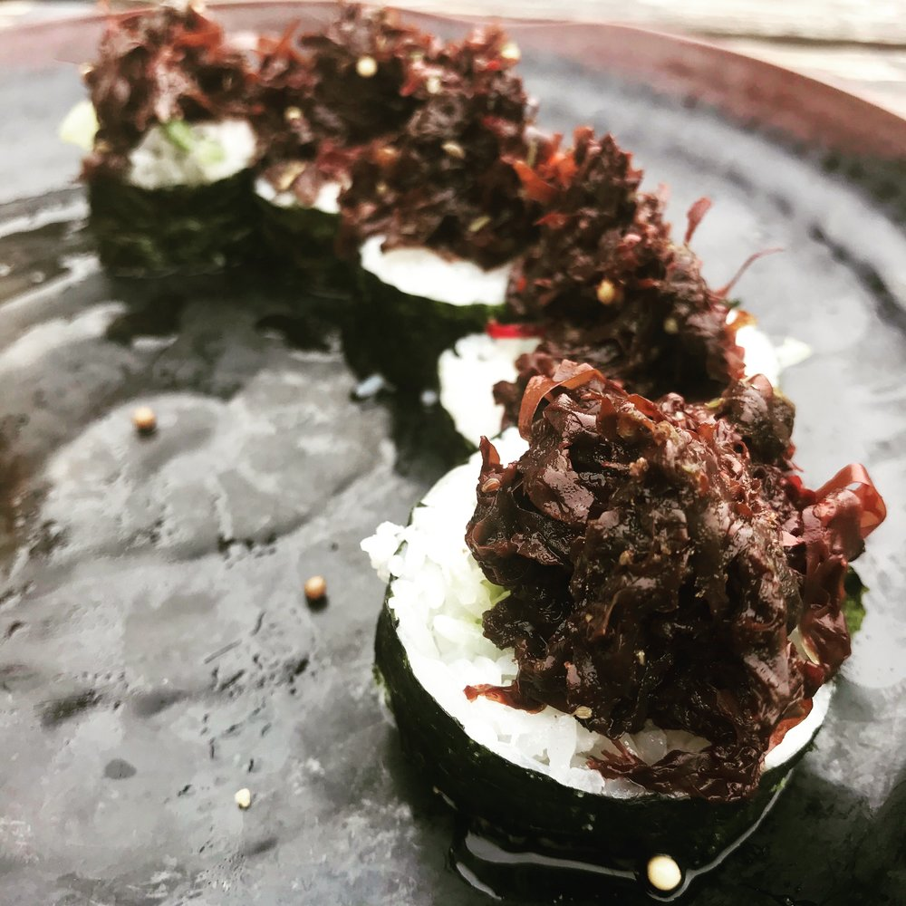 Seaweed roll chef davin waite .JPG