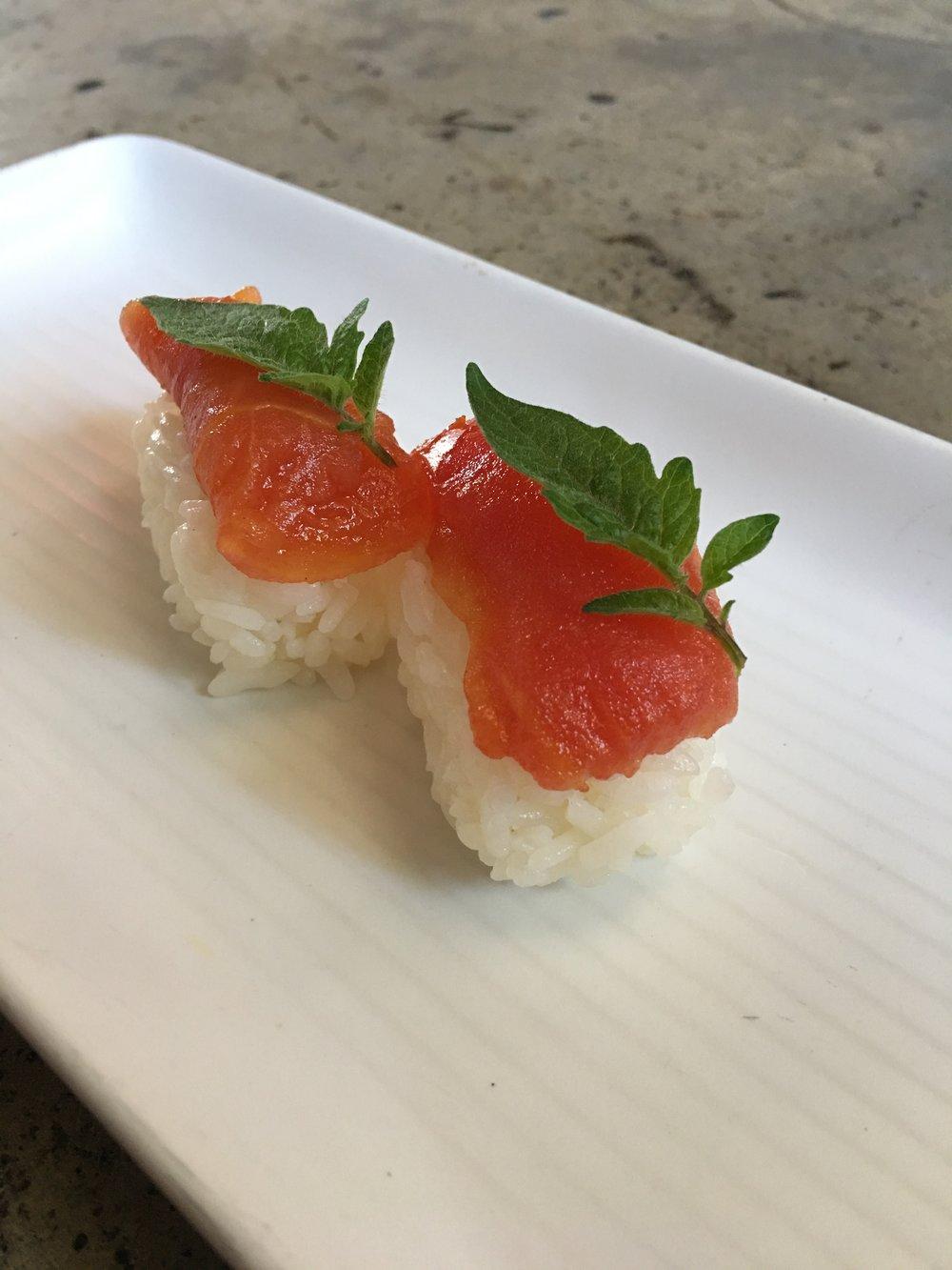 tomato nigiri chef davin waite.JPG