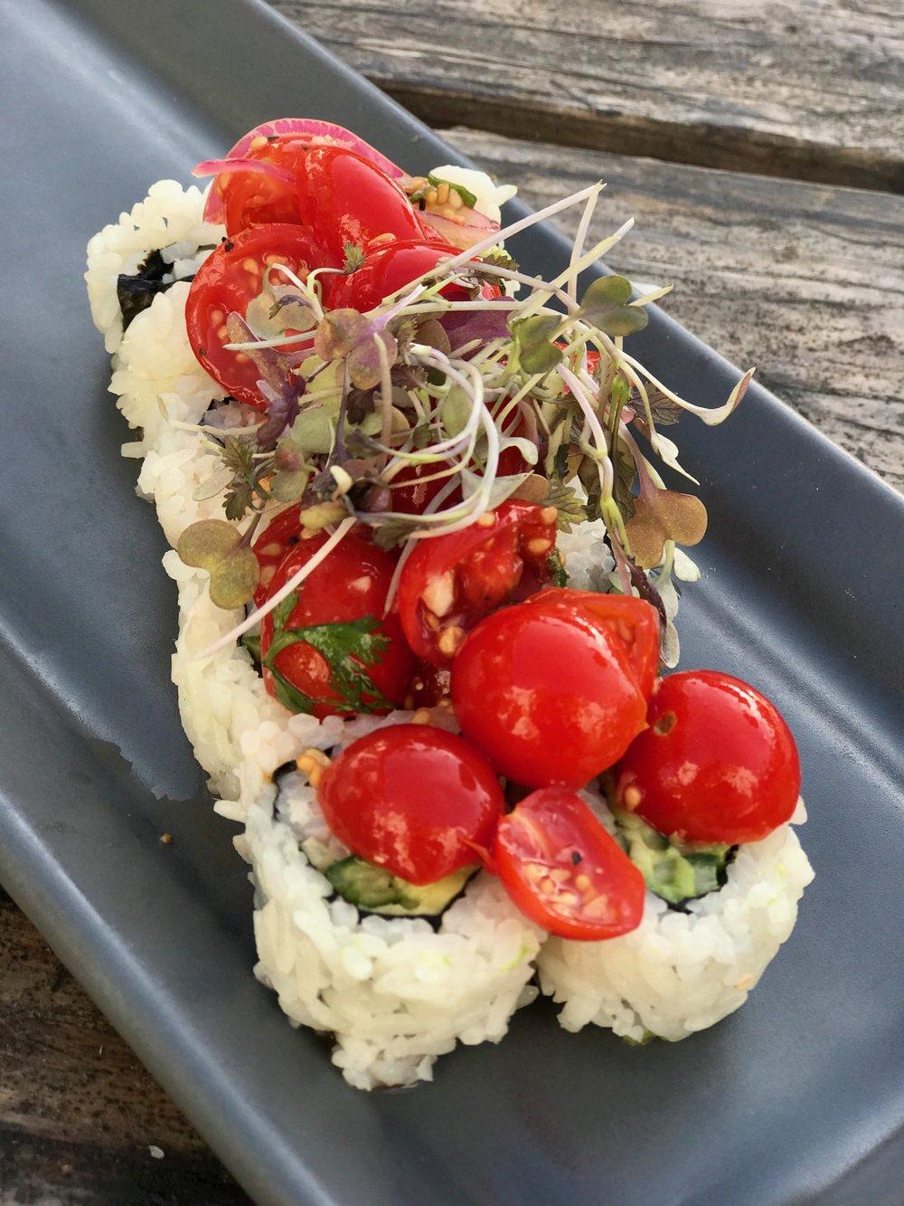 Tomato veggie roll chef davin waite .JPG