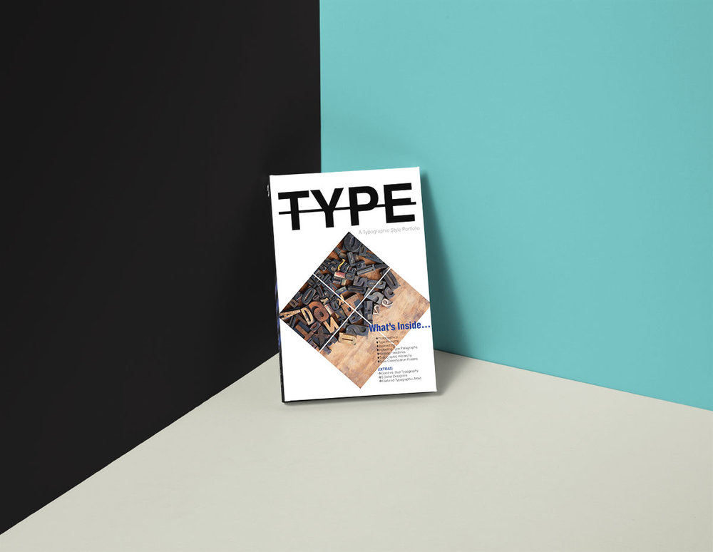 Typography Hardcover Book 1200px