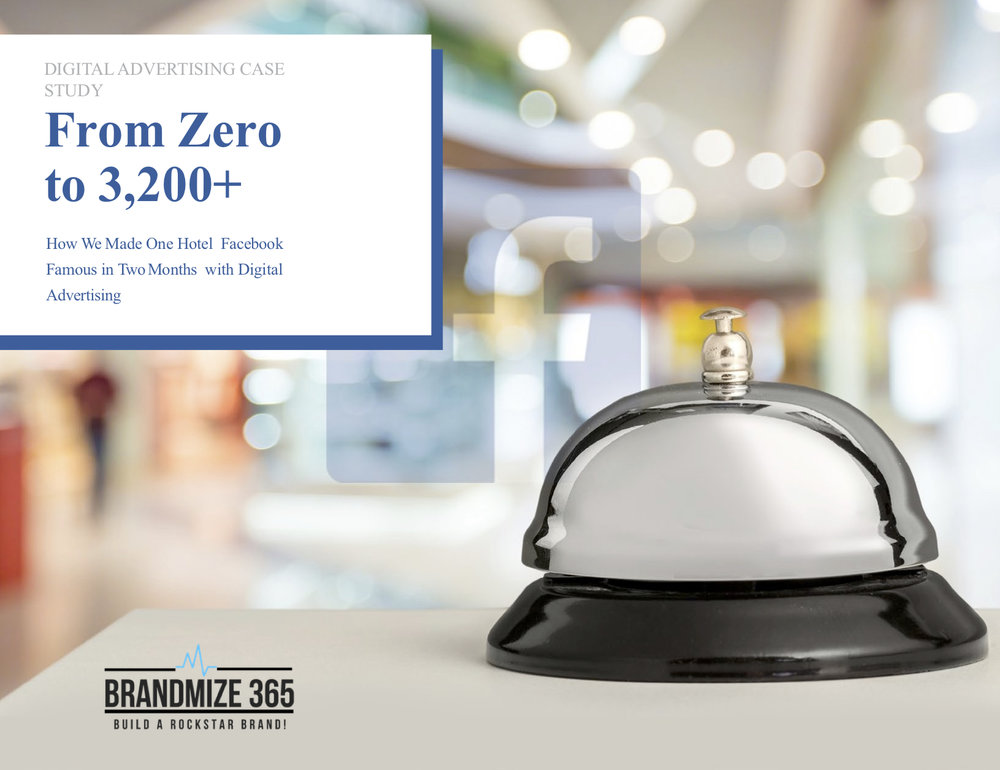 Find our how we made a hotel famous in two months. Download our case study!