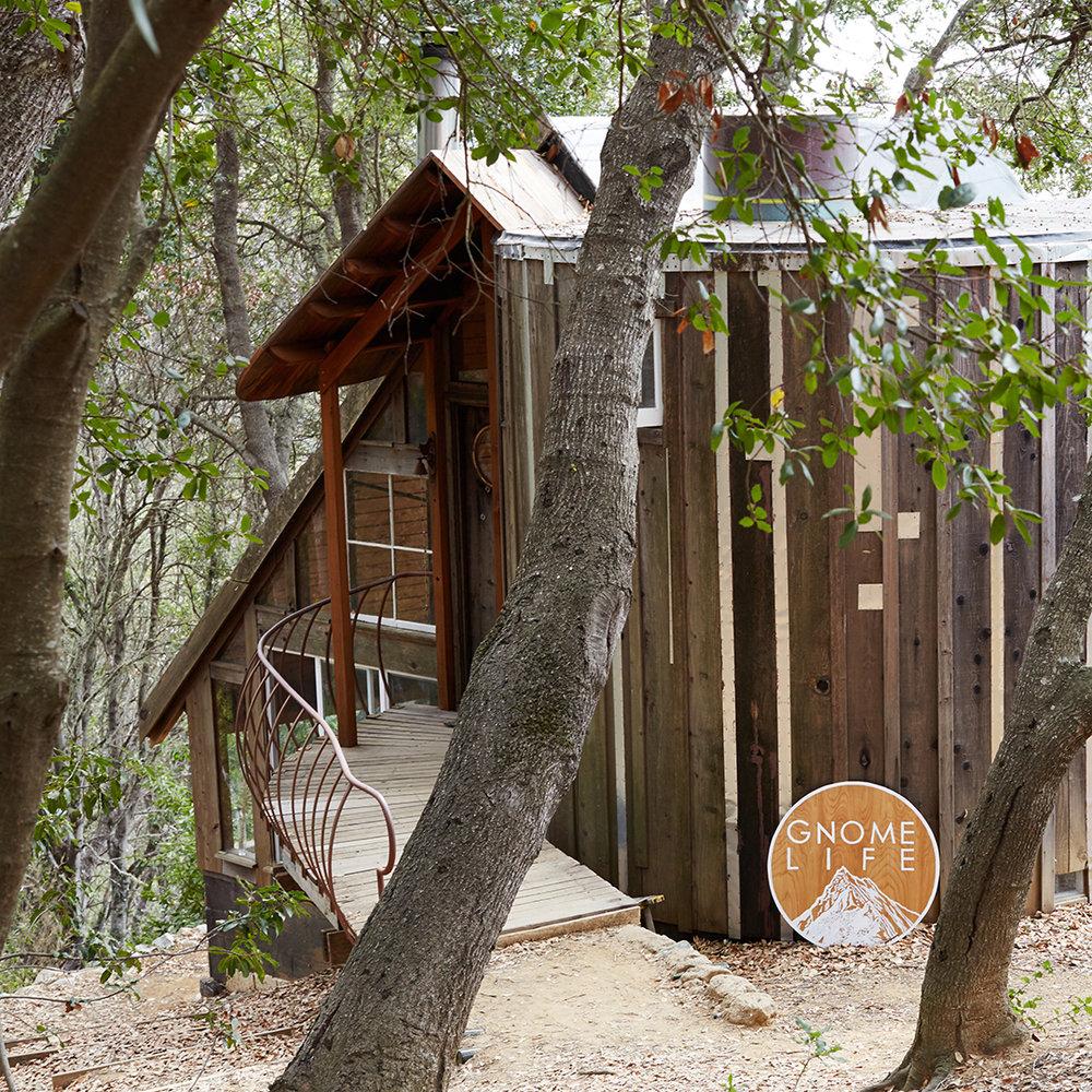 original Gnome Life headquarters on Partington Ridge, Big Sur, California