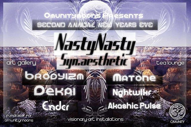 Tonight y'all!! So stoked to close out this amazing year with all the homies and dank tunes! @nastysounds gonna be headlining. The local lineup is off the chain! We're going in! Catch my set from 2-3am after NastyNasty 🤘👊🔥 #Omunitymoons #NastyNasty #DEKAI #saltlakecity #utah #ut #bass #bassmusic #electronicmusic