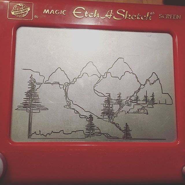 Merry Christmas! #etchasketch