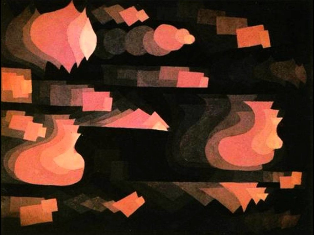 """Fugue in Red"" by Paul Klee"