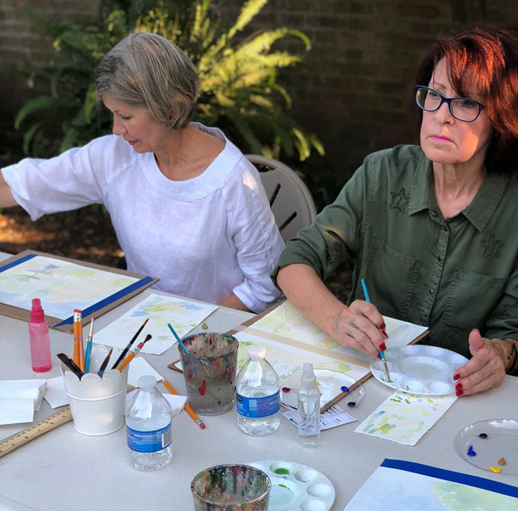WATERCOLOR CLASSES FOR ADULTS - Adult Classes Scheduled Through March