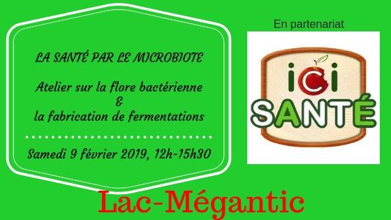 Bannière - Ici Sante Lac-Megantic - 9 fév 2019- Atelier sur la flore bacterienne et fabrication de fermentations.jpg