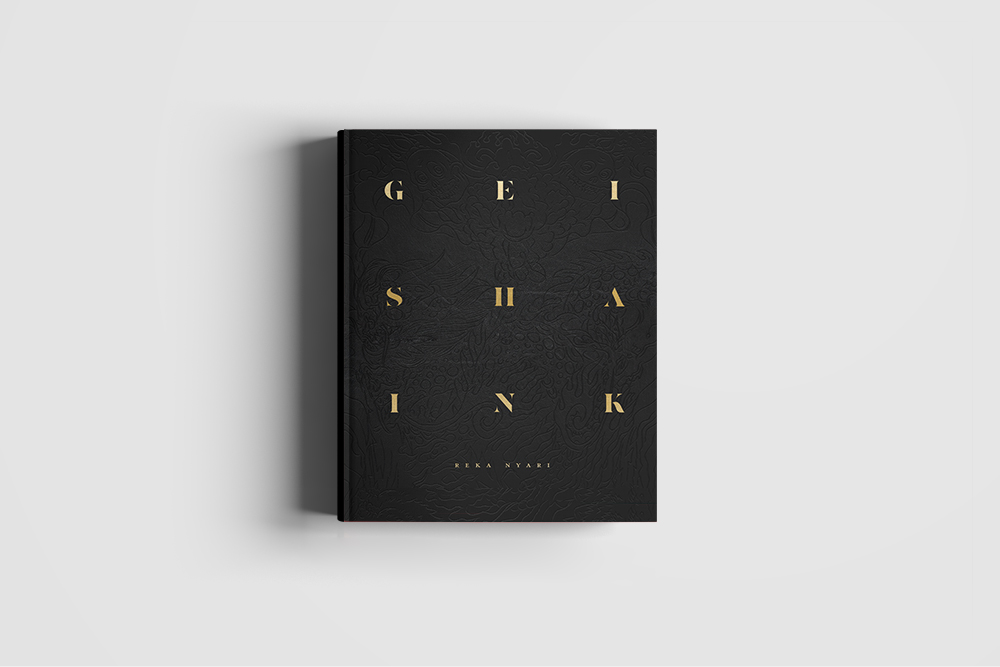 GEISHA INK  Limited Edition Fine Art Photography BookHand signed and numberedEdition of 500 + 25AP - 128 page coffee-table book: 9.5 x 11.8 inches (24 x 30 centimeters), embossed leatherette cover, printed on gorgeous 120 gsm Cotton Wove paper.The book features over 80 photos, most of them never before seen online nor in print.Each edition is carefully numbered and signed by the artist. Custom inscriptions are available.This book will only be printed once, and is limited to 500 copies +25AP. It is designed and crafted to be an art piece in it's own right. GEISHA INK is artisanally printed in Verona, Italy.