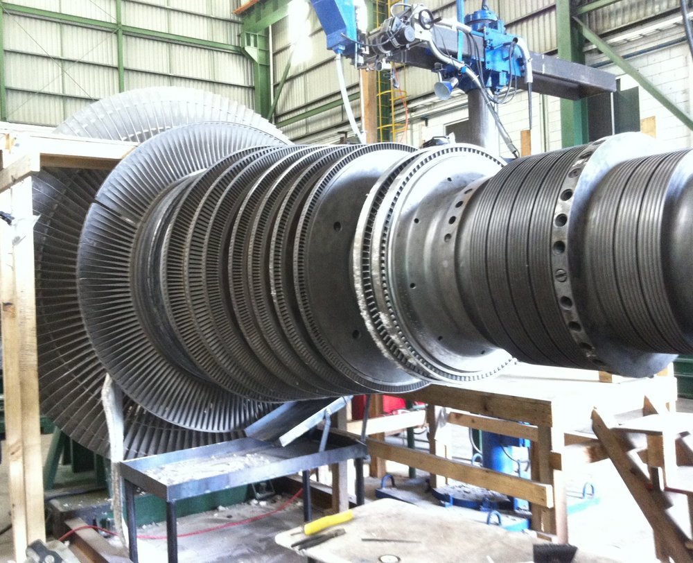 Rotor Wheel Submerged Arc Welding