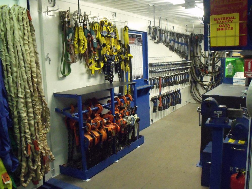 Major Tool Kit Interior