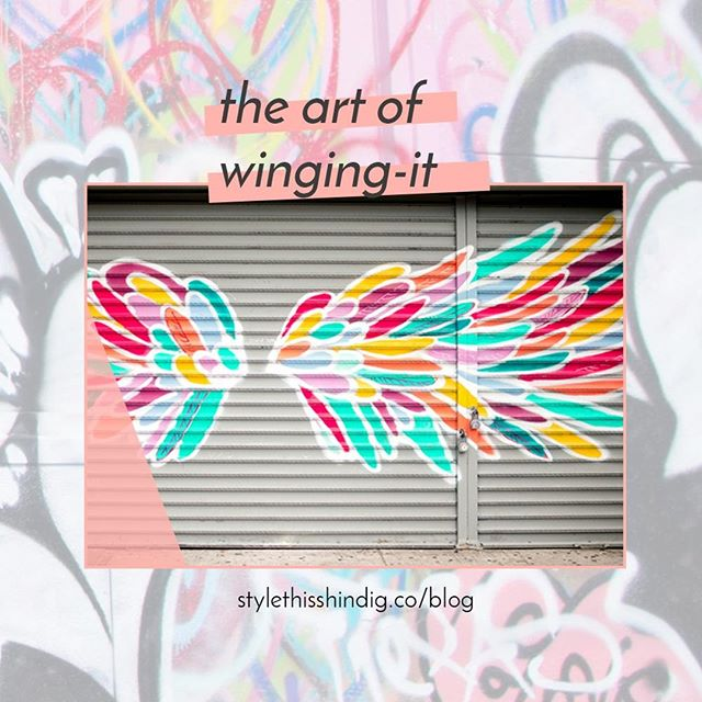 I wrote a brief note about The Art of Winging It. I wing it all the time, not because I'm unprepared, but because I trust my mind enough to do it.  How about you?  Read on, then share the last time you winged it!  What was that like?⠀⠀⠀⠀⠀⠀⠀⠀⠀ .⠀⠀⠀⠀⠀⠀⠀⠀⠀ .⠀⠀⠀⠀⠀⠀⠀⠀⠀ .⠀⠀⠀⠀⠀⠀⠀⠀⠀ #thatgoodtimevibe #pursueconnections #pursueplay  #masterofwingingit #bostonblogger #bostonbloggers #savvycommunity #theeverygirl #badasswomenofcolor #livecolorfully #abmhappylife #thatsdarling #livecolorfully #abmlifeisbeautiful #abmlifeiscolorful #flashesofdelight #everydayshesparkling #shindigstylesesh #shindigplaysesh #planoly