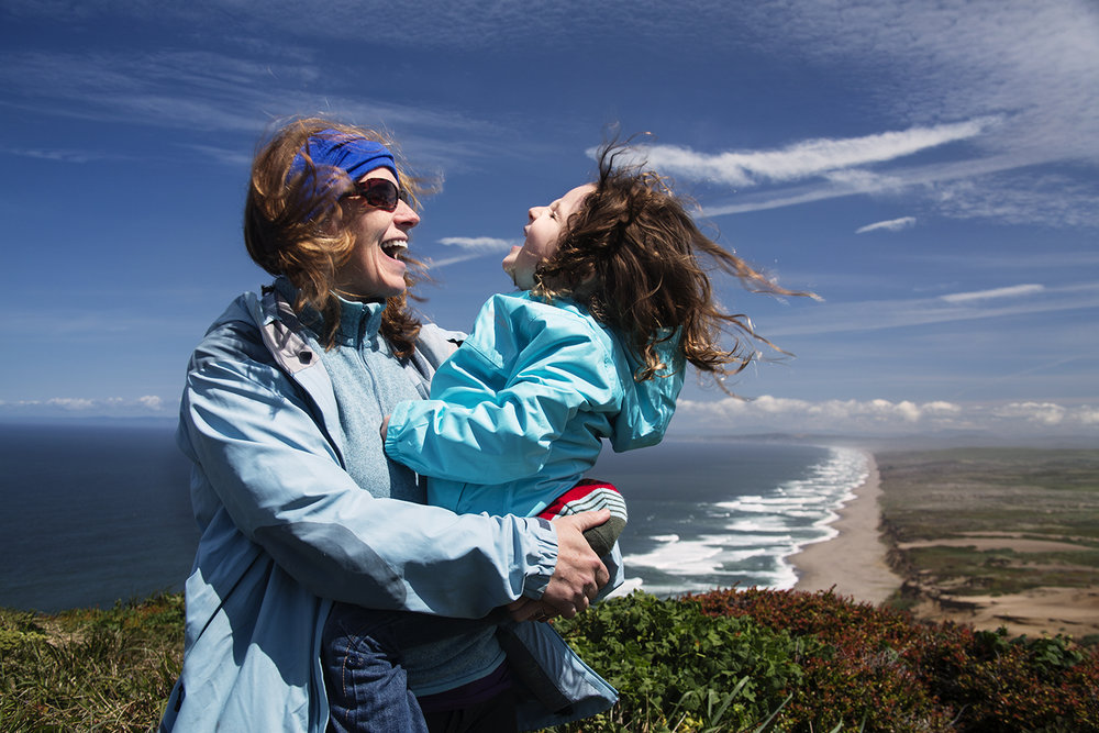 Mother & Daughter,  Point Reyes National Seashore