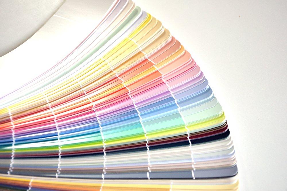 Paint color wheel_undertones