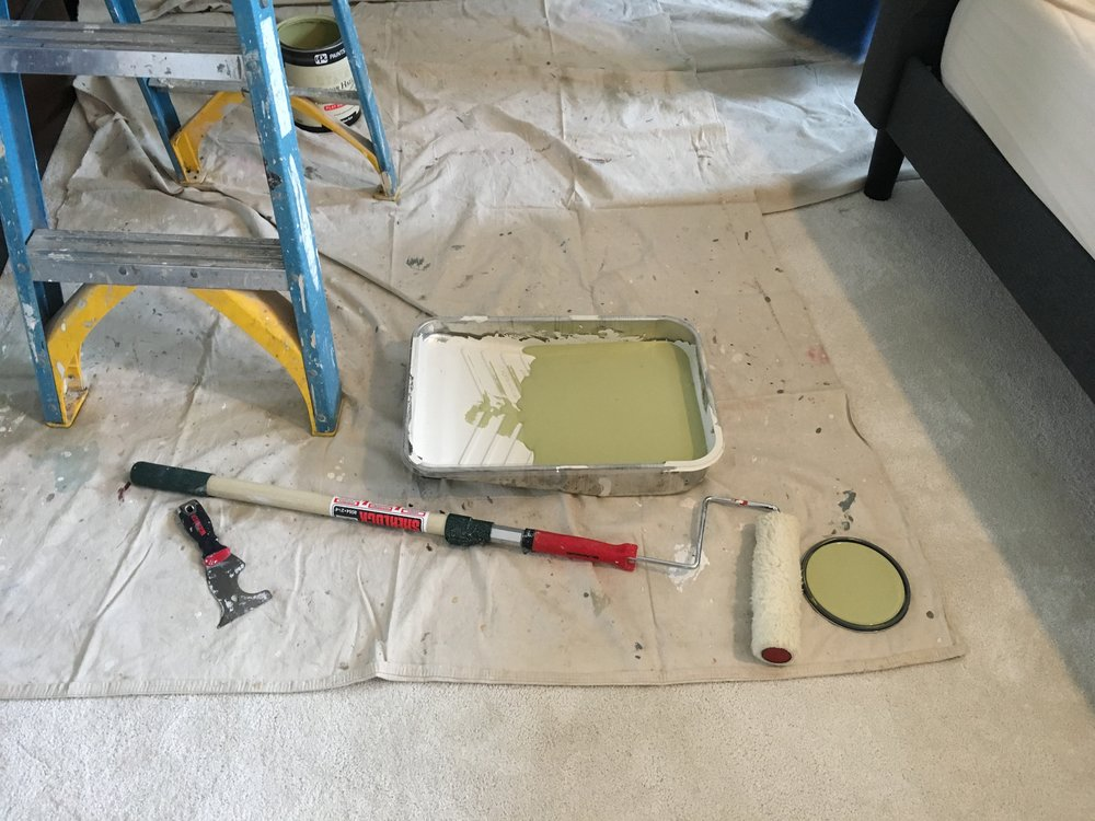 Once you've decided on the paint color, you can order the paint and let the fun begin.