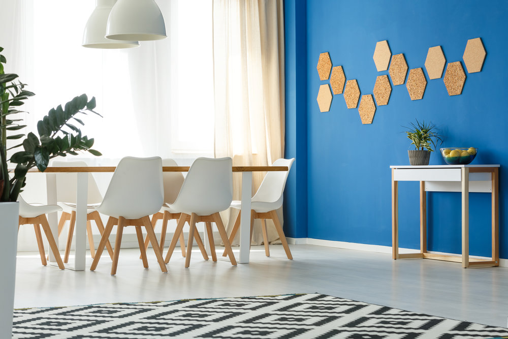 Add a painted accent wall to your interior