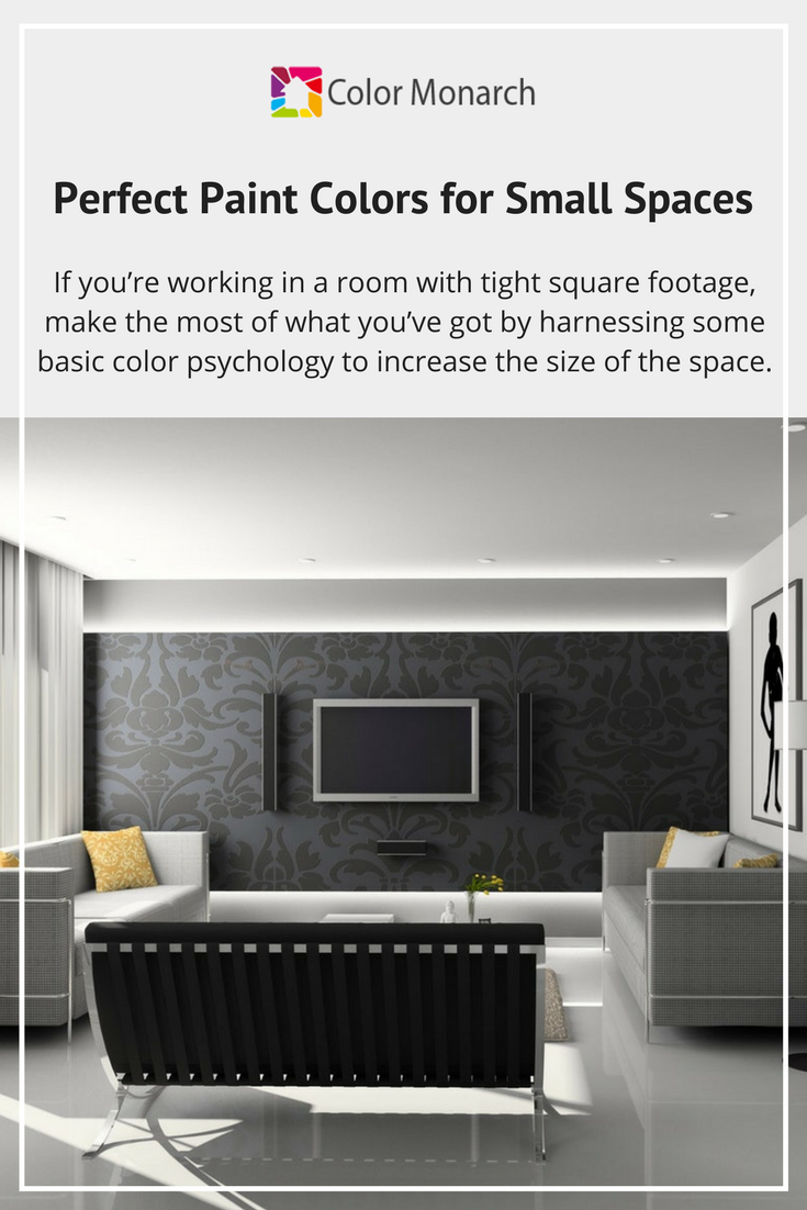 perfect paint colors for small spaces color monarch