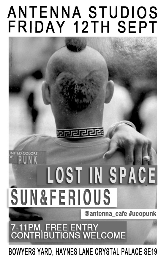Lost in Space + Sun & Ferious Poster