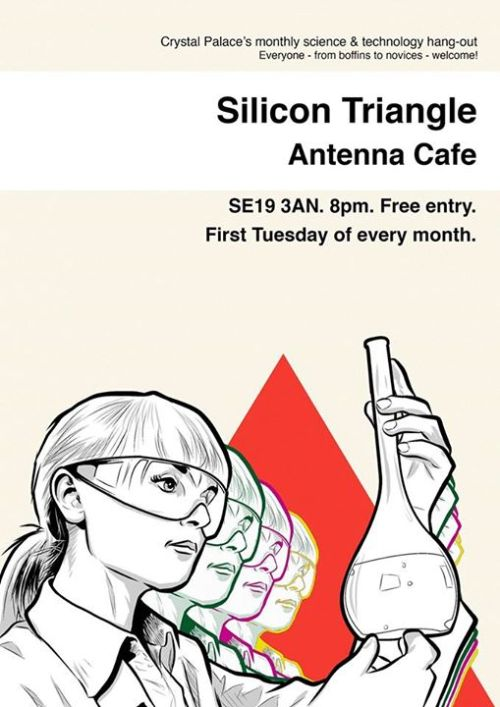 Silicon Triangle Poster