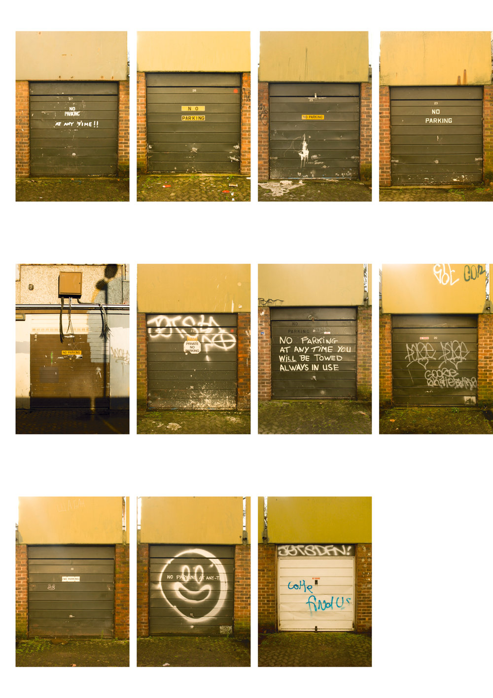 THE HEYGATE ESTATE + GARAGE TYPOLOGY - 2012