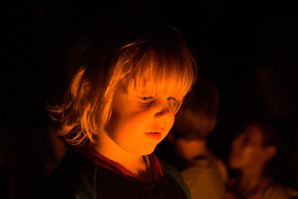 Zen In The Firelight