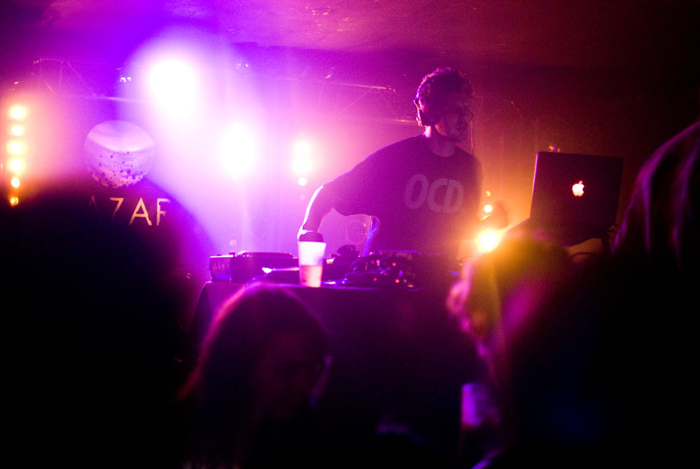 Loefah at Swamp 81 night, Glazart, Paris