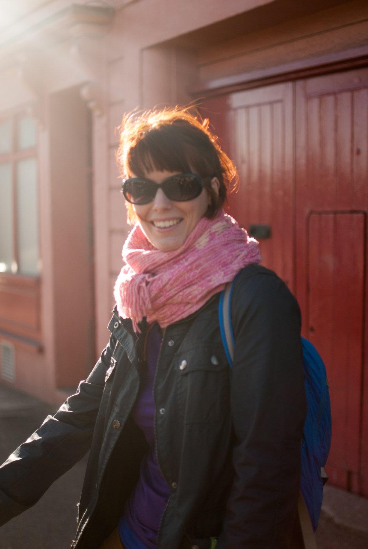Portrait of Charlotte Newcity, music promotor