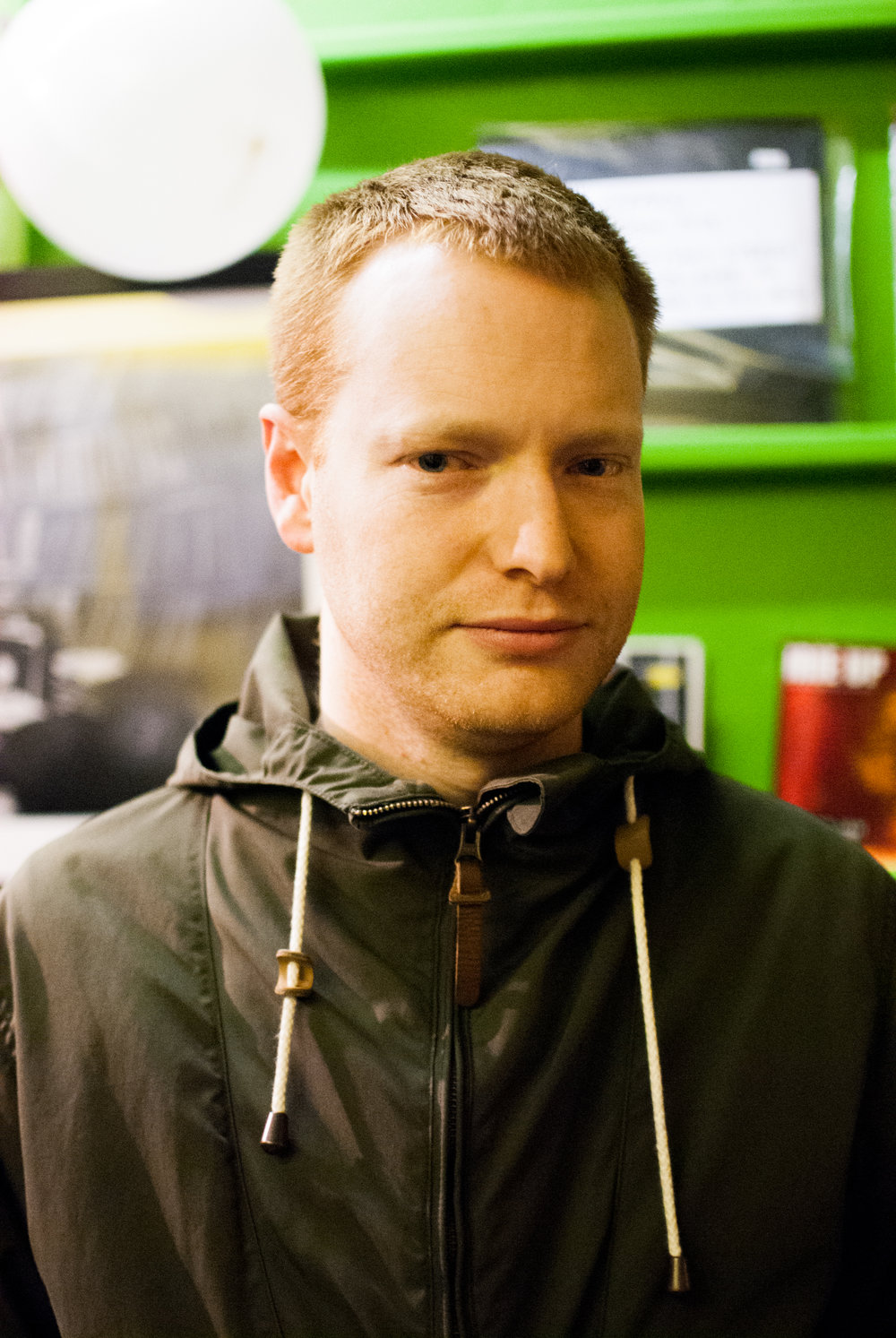 Chris Farrell, Owner of Idle Hands Record Shop