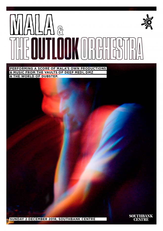 Photo by Georgina Cook. Poster by Outlook.