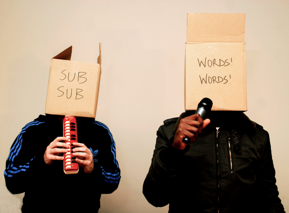 SUB-SUB, WORDS! WORDS! - KODE 9 & THE SPACEAPE (HYPERDUB).