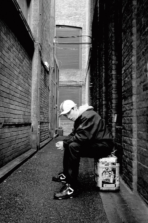 DJ Youngsta, London, 2005