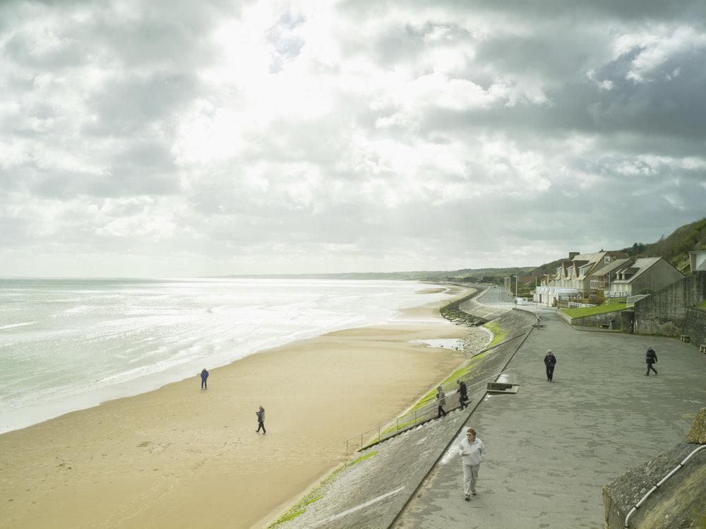 Donald Weber: Omaha Beach, Dog Green - May 6, 2015, 10:18am. 14ºC, 62% RELH, Wind WSW, 22 Knots. VIS: Good, Broken Clouds. ©Donald Weber