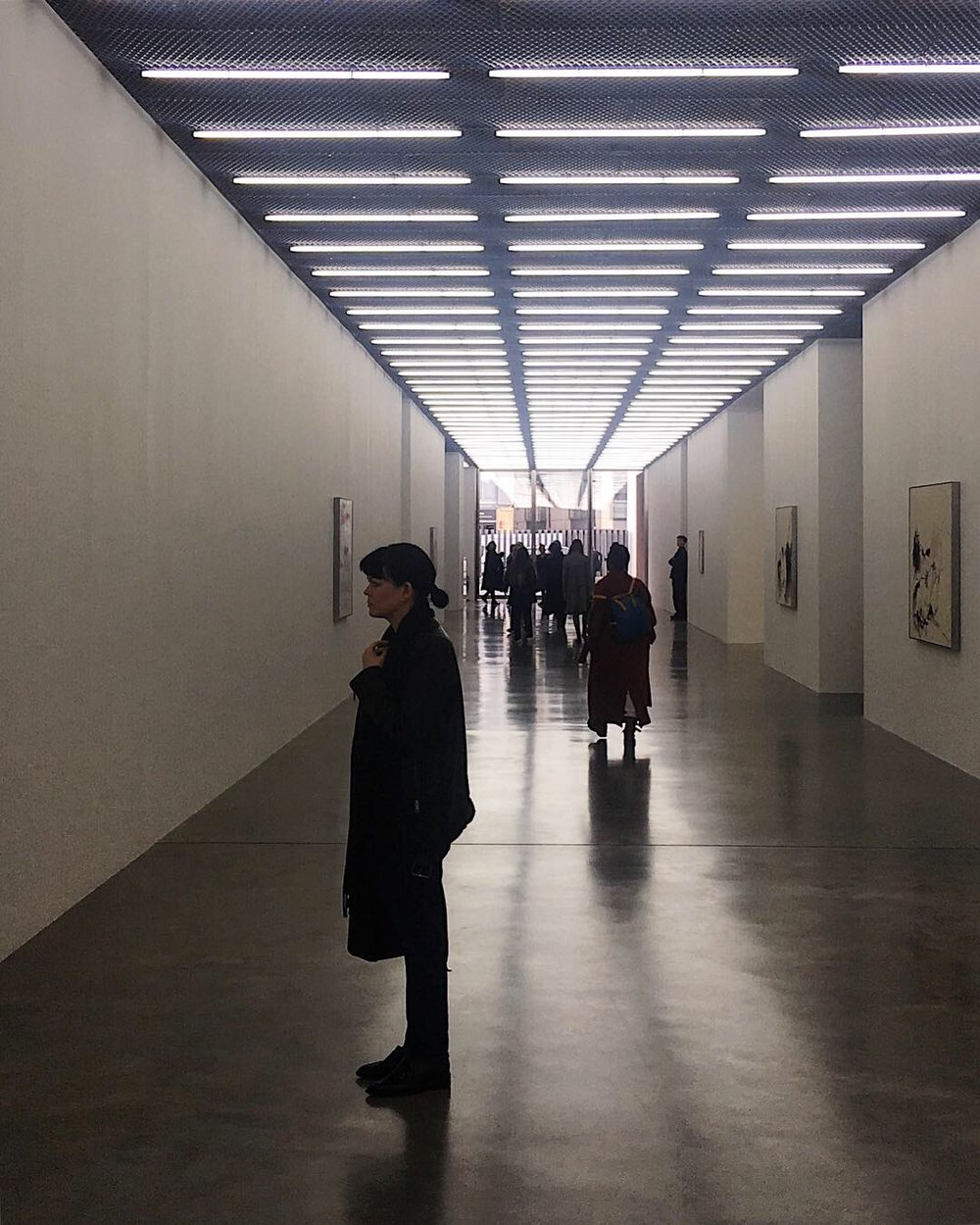 View of White Cube