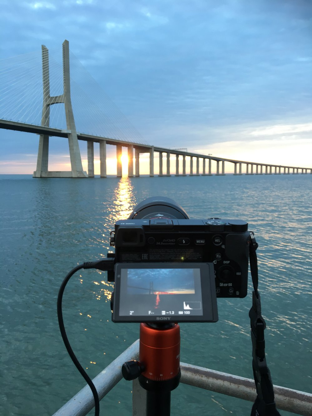 the first images in my gallery have been shot with the a6000 (Vasco ca Gama bridge, Lisbon, Portugal)