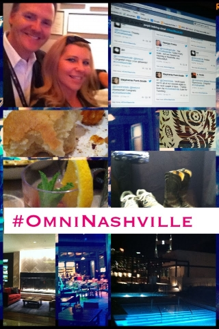 Pictured with Jay Cooney at Omni Nashville Hotel.