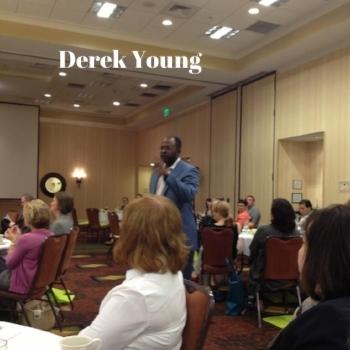 Pic: Derek Young, speaking at NAMA