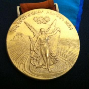 Joanna Hayes' 2004 Summer Olympics Gold Medal